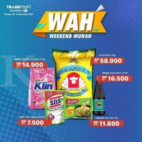 Promo Transmart Carrefour Hari Ini 25 November 2020 Wah Murah Barang Elektronik Furniture Cek Promo